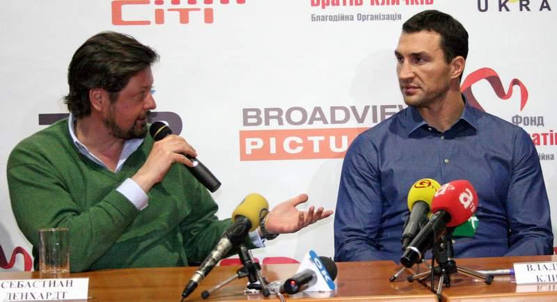 Себастиан Денхардт и Владимир Кличко