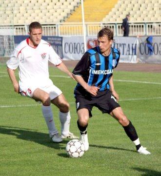 Олег Венглинский в матче со Сталью был неудержим