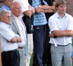 На фото: слева направо Виталий Шевченко, Леонид Климов и Олег Марус