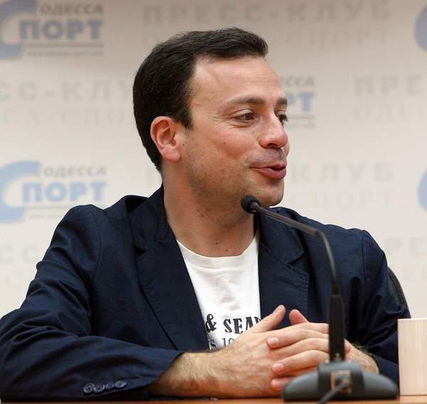 Игорь Рабинер в Пресс-клубе Одесса-Спорт