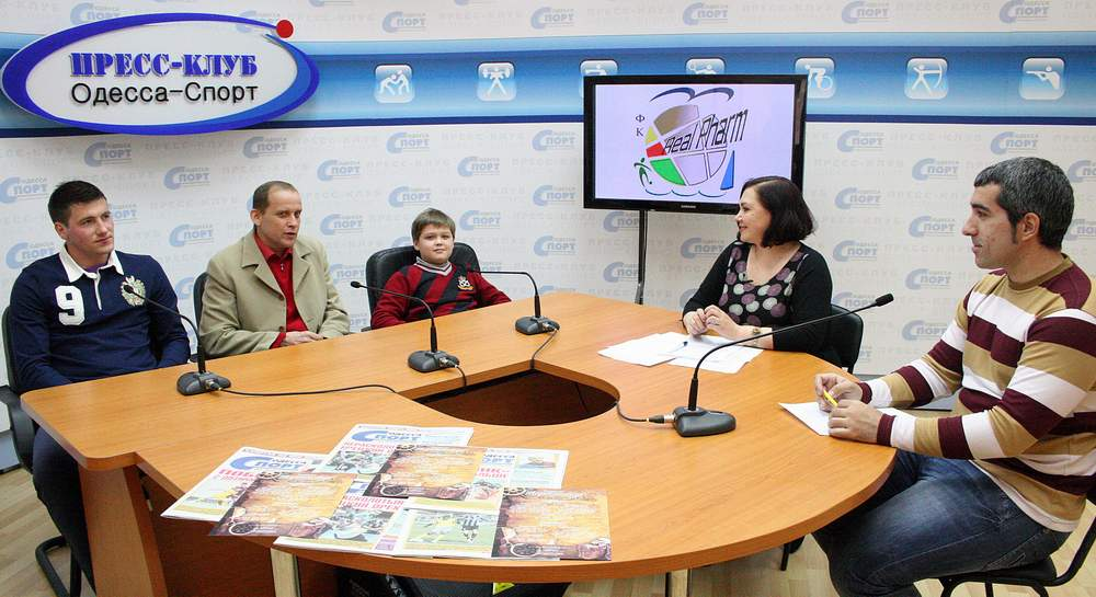 Реал Фарм в Пресс-клубе Одесса-Спорт