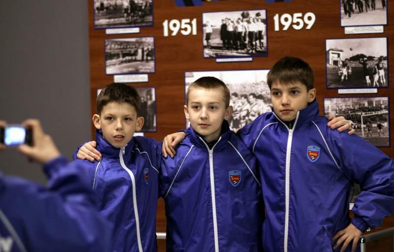 В музее Черноморца