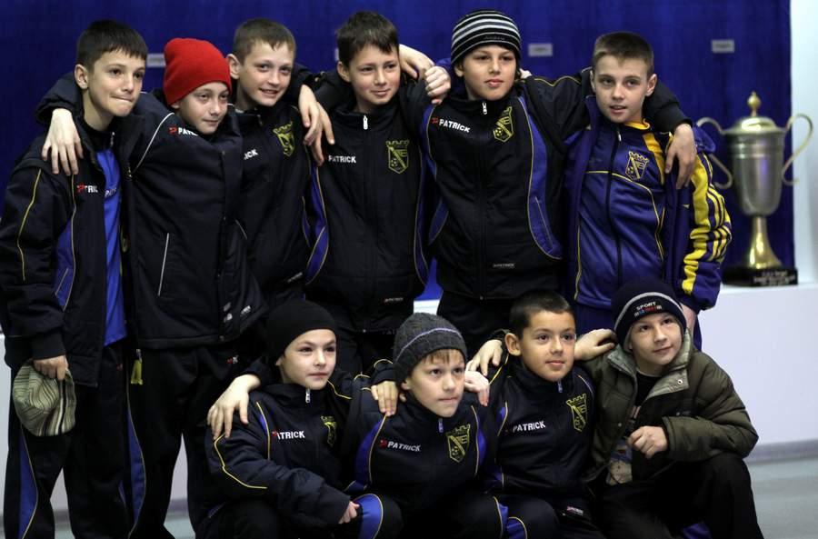 В музее футбола Черноморец