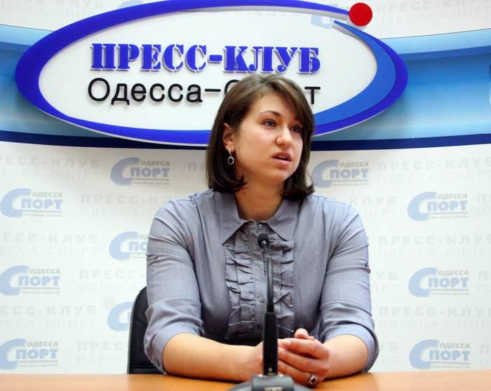 Екатерина Карсак в Пресс-клубе