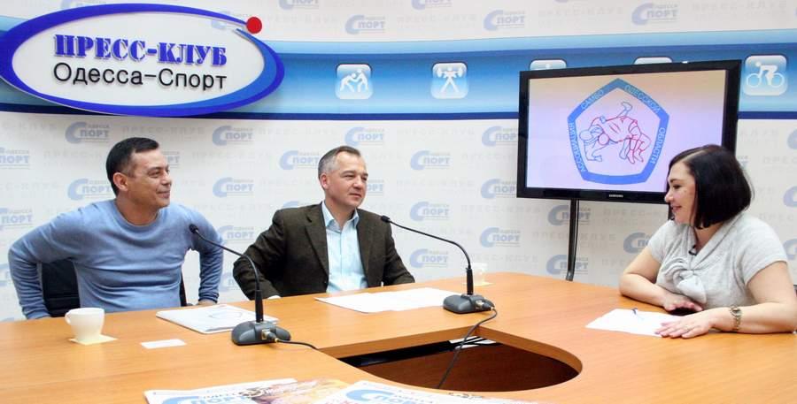 О самбо в пресс-клубе Одесса-Спорт